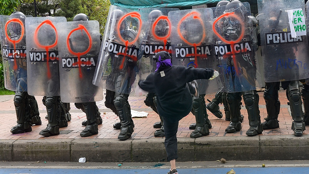 """Iván Duque anunció """"el máximo despliegue de asistencia militar"""" a la Policía Nacional en la ciudad de Cali."""