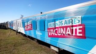 El Tren Sanitario bonaerense comenzó a testear coronavirus y vacunar contra la gripe
