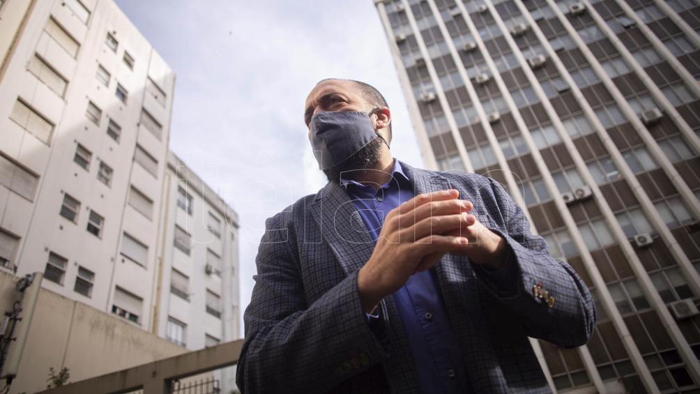 Leandro Arévalo, fiscal de la causa.