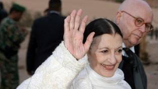 Falleció en Milán a los 84 años la italiana Carla Fracci, ícono en el mundo del ballet