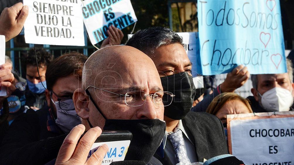 El abogado Fernando Soto confirmó que ambos policías mantuvieron una reunión.