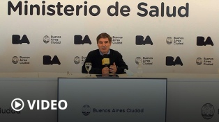 "Tras reportar un ""descenso significativo de casos"", Quirós habló de aperturas progresivas"