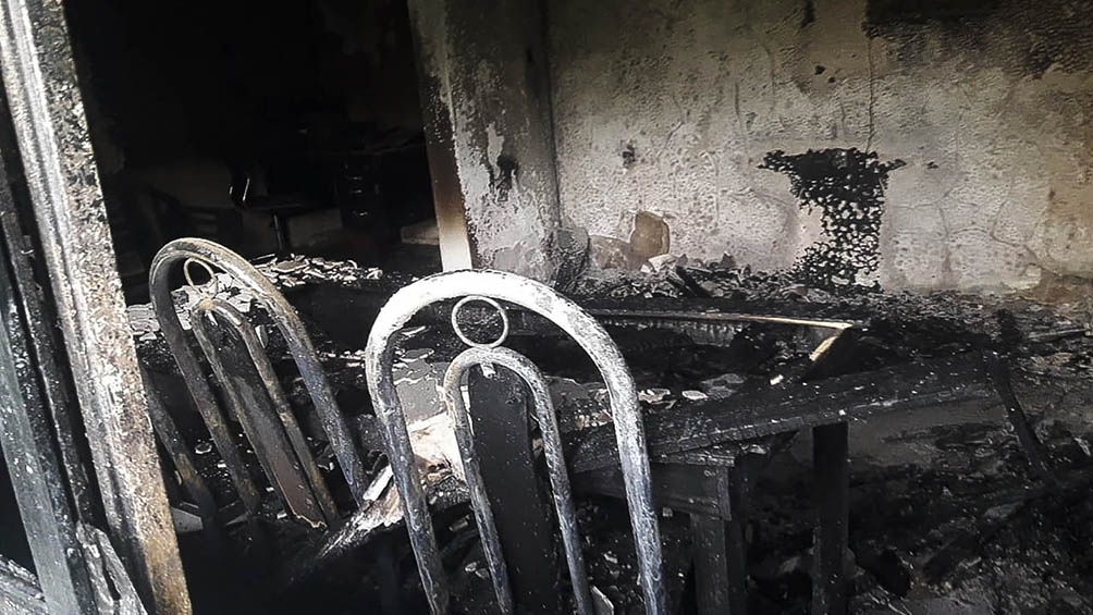 Seis personas de entre 67 y 92 años resultaron afectadas al inhalar monóxido de carbono.