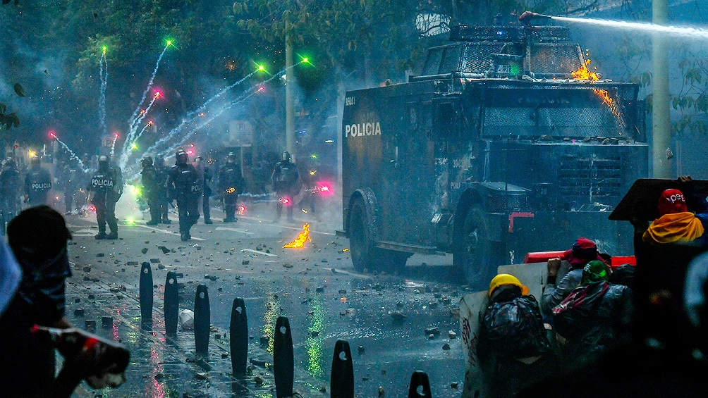 Al menos cinco muertos en Cali en el marco de las protestas antigubernamentales.