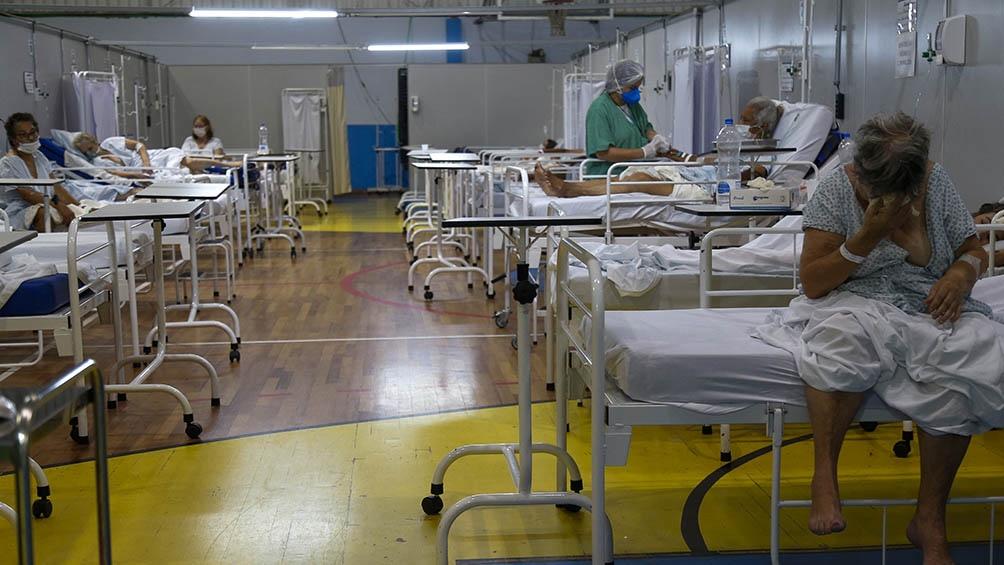 Cuiabá registra 2897 muertes y 86.560 infectados de Covid-19 mientras que el estado de Mato Grosso acumula más de 410.000 casos y 11.037 fallecidos.