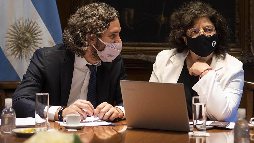 El Gobierno se reunió en la tarde con epidemiólogos y expertos