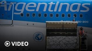 Argentina superará el lunes los 17,6 millones de vacunas recibidas desde el inicio de la pandemia