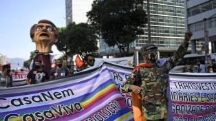Bolsonaro minimizó las protestas, aunque se advierte una polarización con Lula para 2022