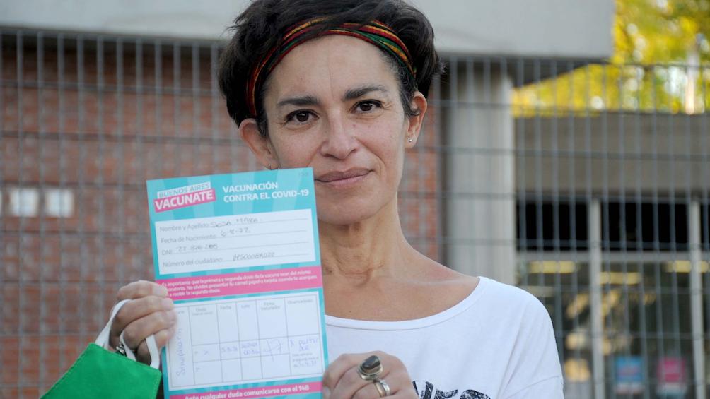 Según el Monitor Público de Vacunación, en estas horas se llegará a los diez millones de argentinos vacunados al menos con una dosis.