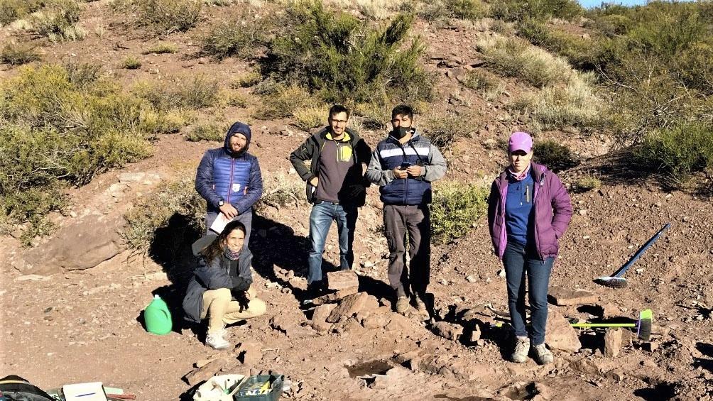 El nuevo yacimiento está ubicado en la zona de Aguada Pichana.