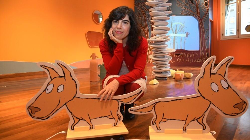 """""""Petit"""", basada en el cuento """"Petit, el monstruo"""", de la ilustradora y escritora argentina Isol Misenta."""