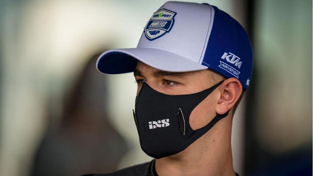 Murió el piloto suizo Dupasquier tras el grave accidente que sufrió en el GP de Italia