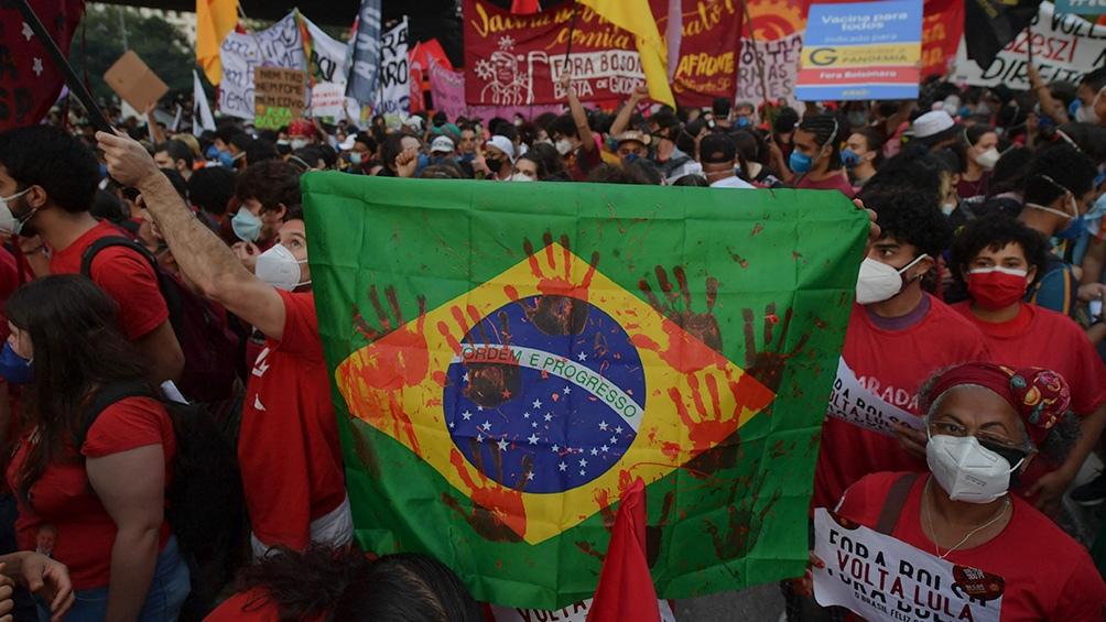 Luiz Inácio Lula da Silva es favorito en las encuestas para los comicios de 2022