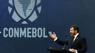 Conmebol y un informe por los casos positivos en Brasil
