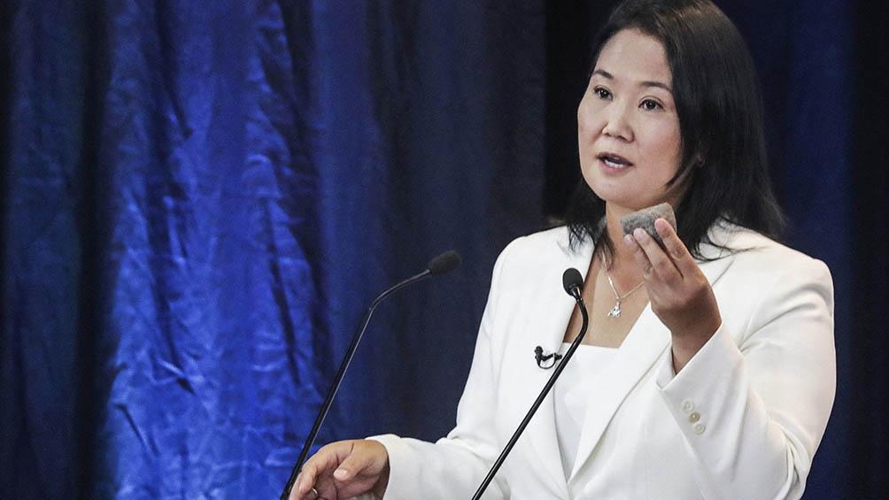 """La hija del expresidente Alberto Fujimori sostuvo que """"la campaña terminó y será fundamental tender los puentes y encontrar los espacios de diálogo entre todos los grupos políticos""""."""