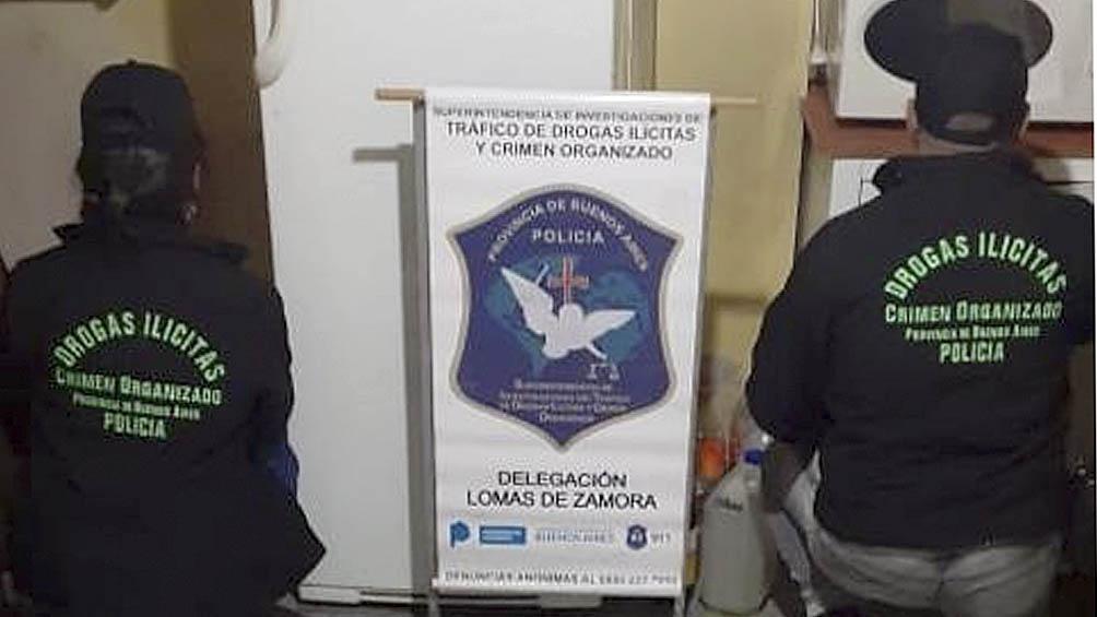 Los procedimientos estuvieron a cargo de la Superintendencia de Investigaciones del Tráfico de Drogas Ilícitas.