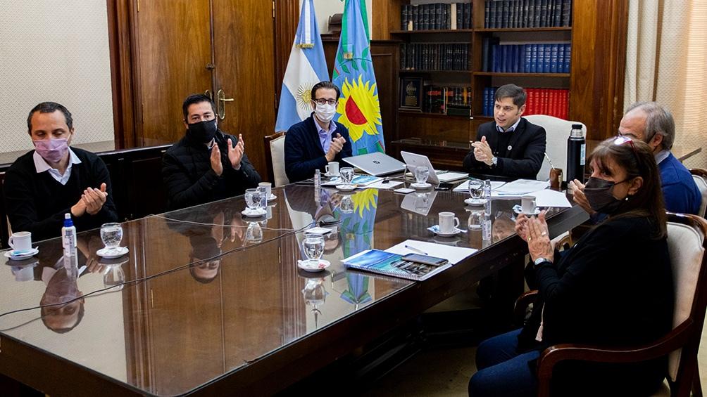Kicillof presentó un plan de 750 obras en la provincia