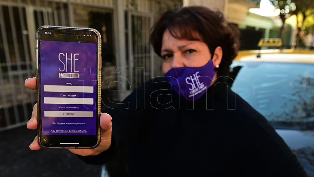 La aplicación creada por María Eva es gratuita tanto para las pasajeras como para las conductoras que deseen utilizarla.