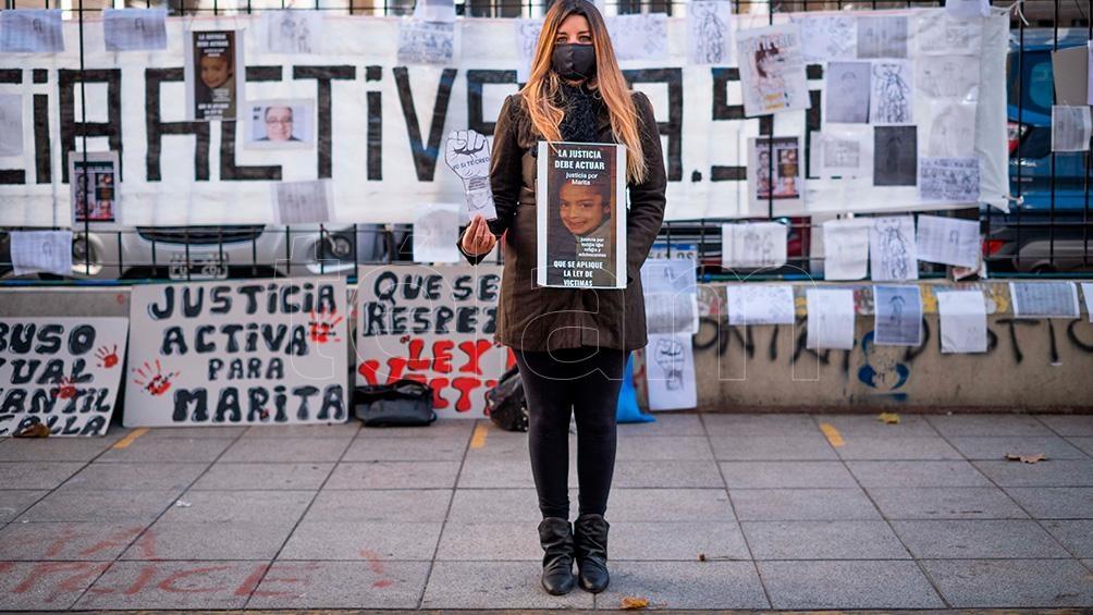 """María Tobio habló con Télam y dijo que lo hizo para ver si a los jueces """"los hace recapacitar y no cierran mi causa""""."""