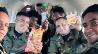 Rescataron a ocho militares secuestrados por grupos irregulares colombianos