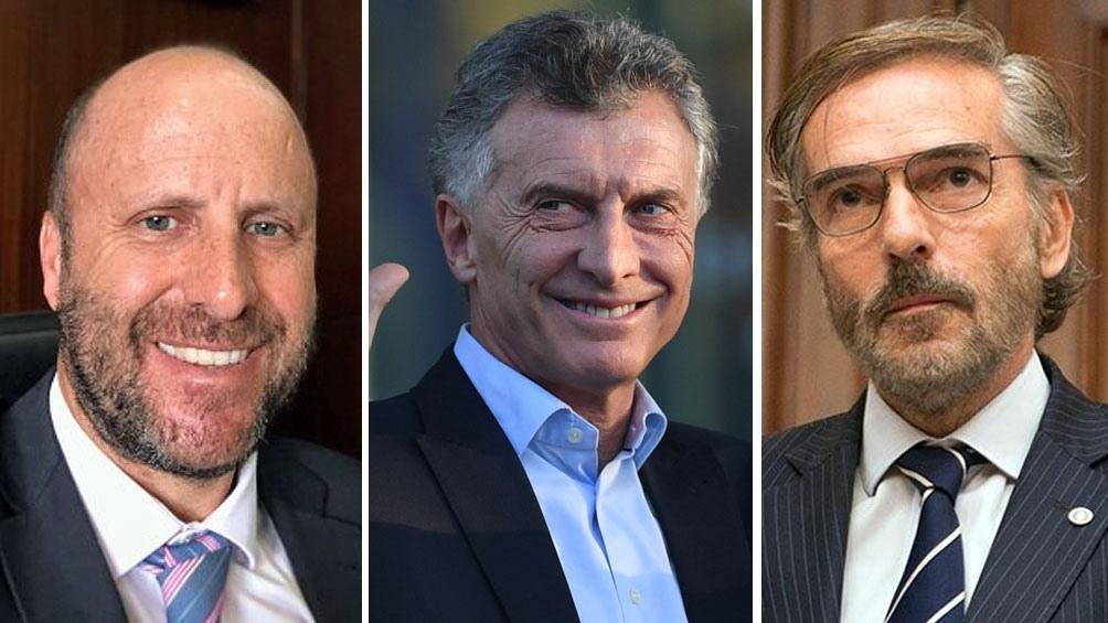 Beraldi recordó que los camaristas Mariano Borinsky y Gustavo Hornos se reunían con el expresidente Mauricio Macri.