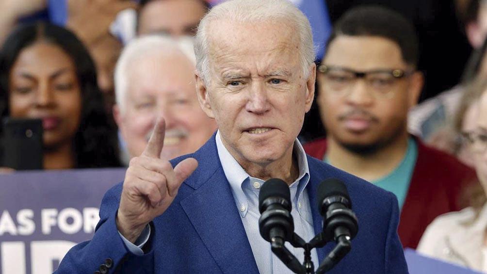 """Biden: El Legislativo es """"el único"""" que por ley puede ofrecer una """"solución permanente"""" a los jóvenes indocumentados"""