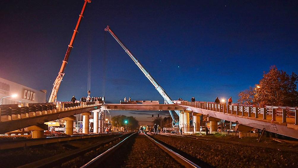 Las obras permitirán mejorar y ampliar la circulación de trenes de la Línea Sarmiento