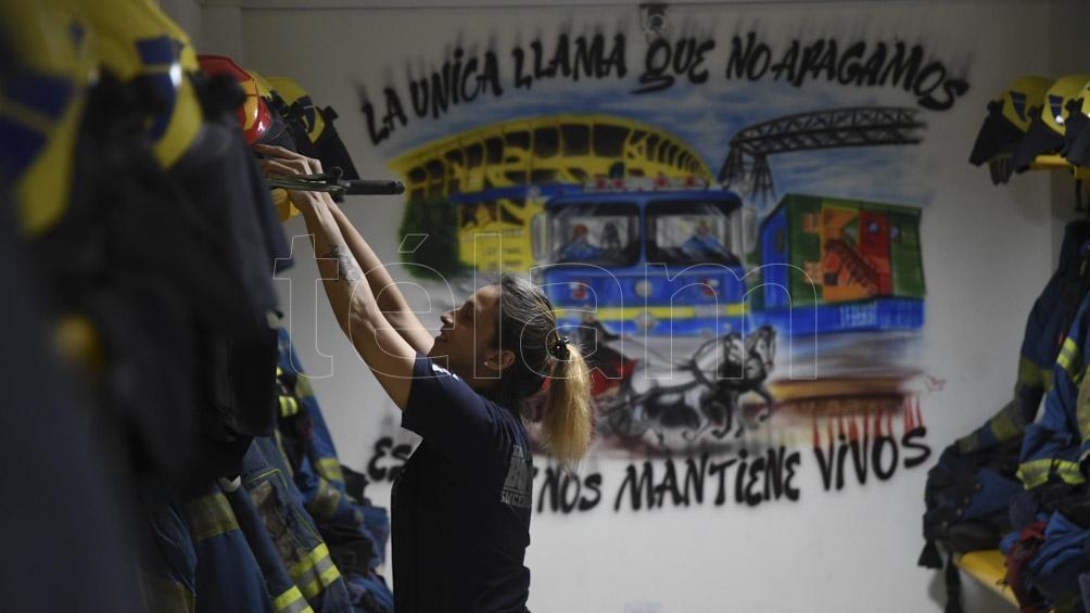 """""""Esta temporada trabajamos en incendios en Deán Funes, Capilla del Monte, Alta Gracia, Carlos Paz"""" relata Machuca, Jefe del cuartel de Mina Clavero."""