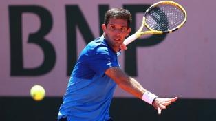 Delbonis se despidió en octavos en la jornada donde Federer fue noticia sin jugar