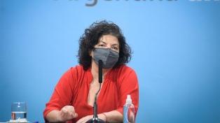 """Vizzotti ratificó: """"La prioridad uno del gobierno es completar los esquemas de vacunación"""""""