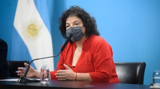 """Vizzotti: La reunión con laboratorios """"sirvió para cerrar acusaciones de Patricia Bullrich"""""""