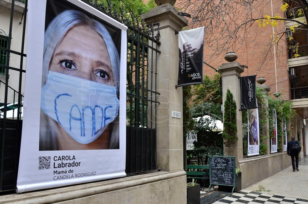 La exposición se inaugura un día bisagra para nuestro país: el 3 de junio, la fecha que desde 2015 se convirtió en bandera cuando miles de personas se movilizaron en plazas de toda la Argentina. Foto: Eliana Obregón.