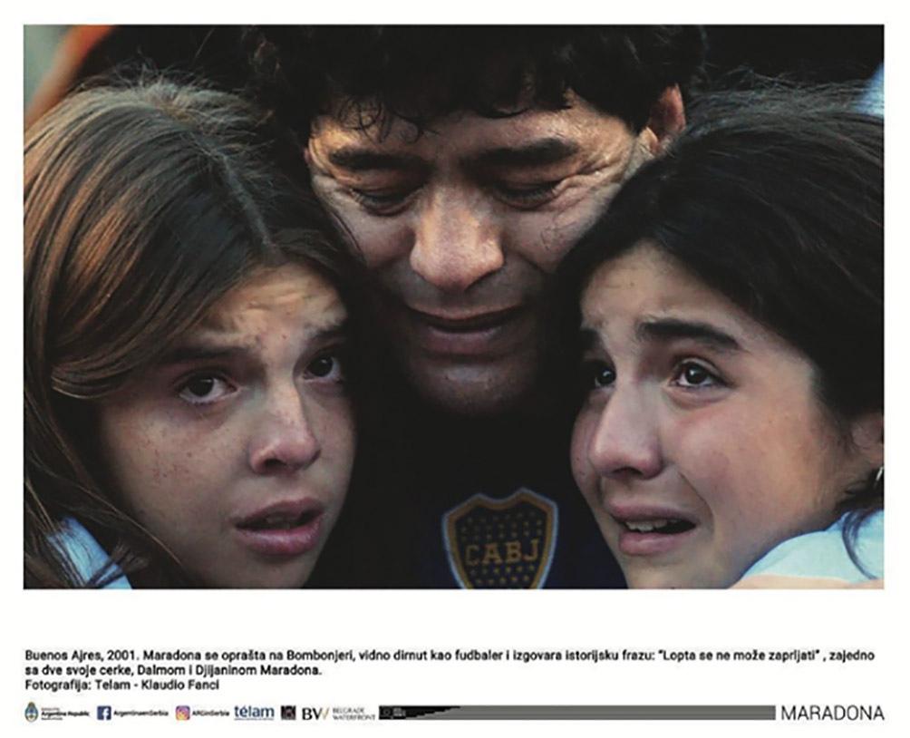 Diego y sus hijas. Foto: Claudio Fanchi.