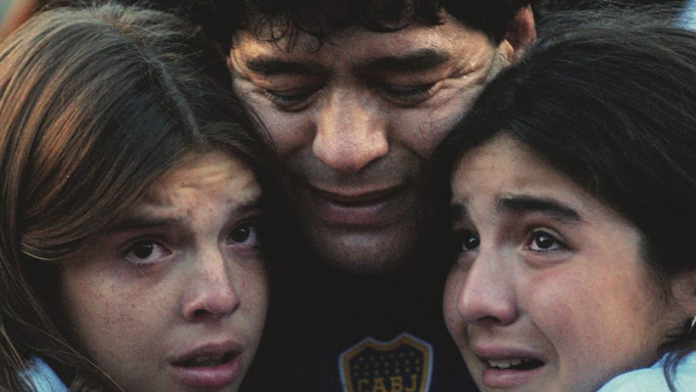 Los hijos de Maradona reactivaron las redes del Diez a manera de homenaje