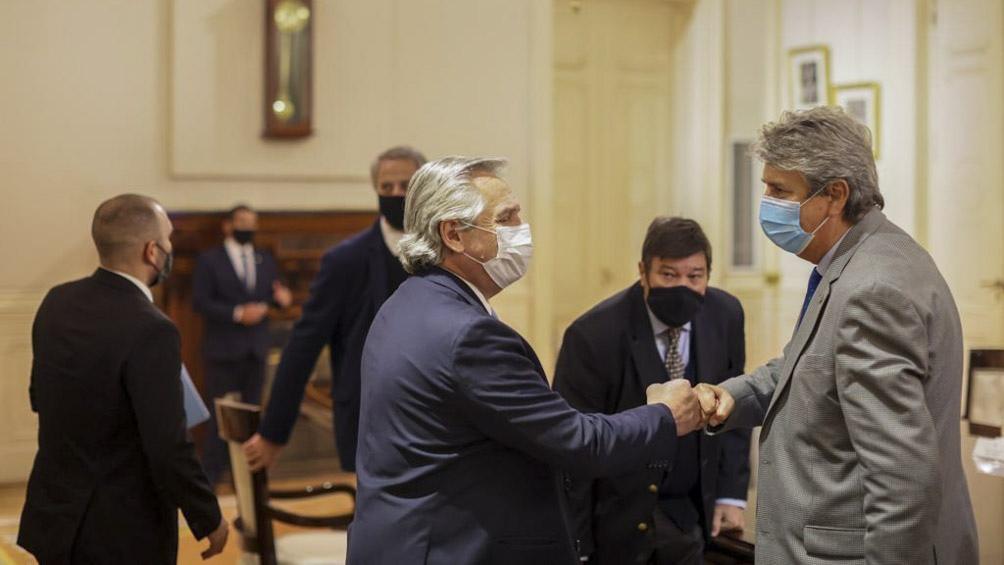 """""""Fue una reunión positiva, habla a las claras de una instancia de diálogo"""", calificaron desde el Consejo Agroindustrial Argentino."""