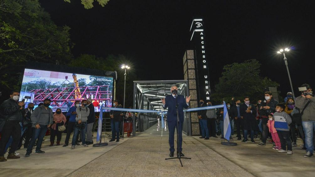 Las obras, financiada en parte por el Gobierno nacional fue inaugurada por el gobernador Gerardo Morales.