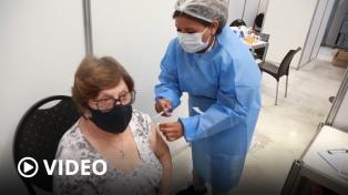 En Argentina ya se vacunaron más de 10 millones de personas con al menos una dosis