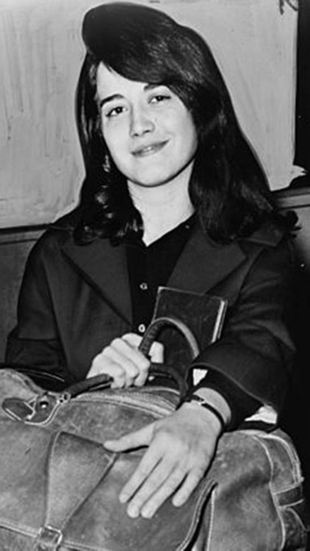 Argerich en 1962, con 21 años. Entonces vivía en Nueva York y había dejado temporalmente la música.