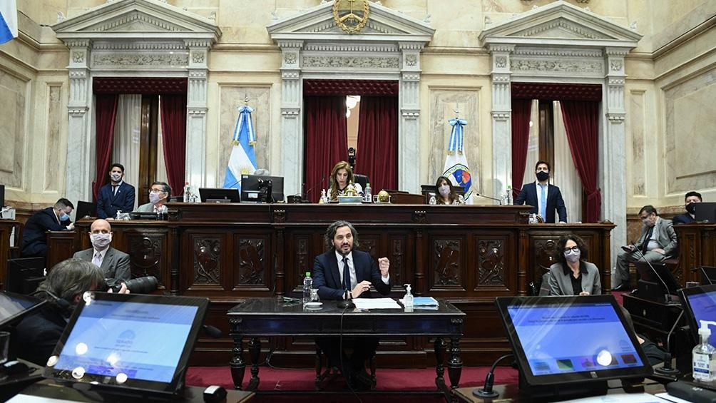 """En su exposición, el ministro coordinador pidió a los espacios opositores """"un debate franco de ideas"""""""