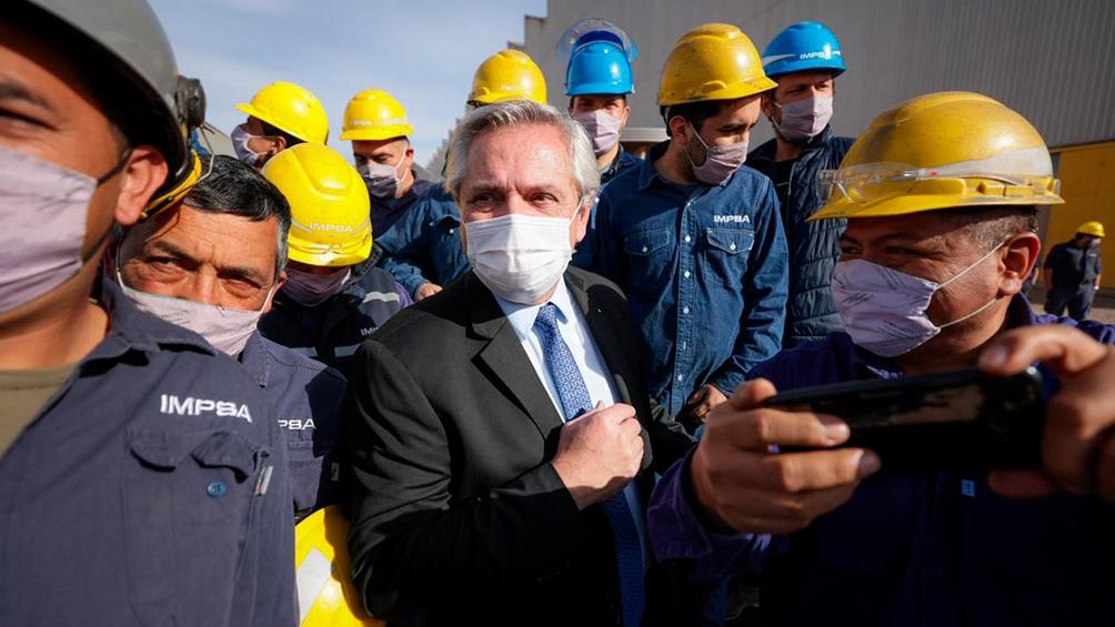 Fernández presentará el proyecto de Ley de Comités Mixtos de Seguridad, Salud, Medio Ambiente y Prevención de Riesgos en el Trabajo.