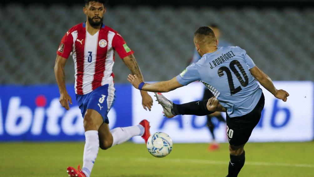 Uruguay y Paraguay se enfrentan por la fecha 7 de eliminatorias (Foto: @Conmebol)