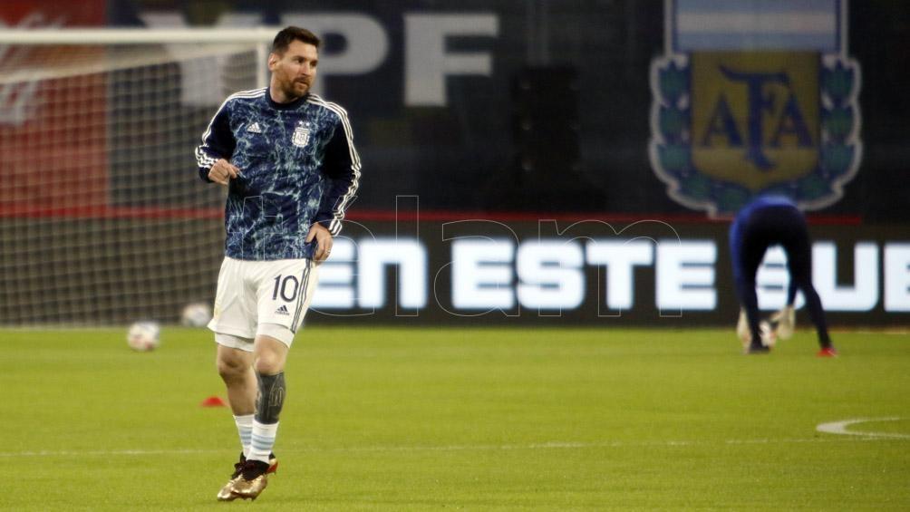 Messi, el capitán argentino, líder en esta Copa América de Brasil