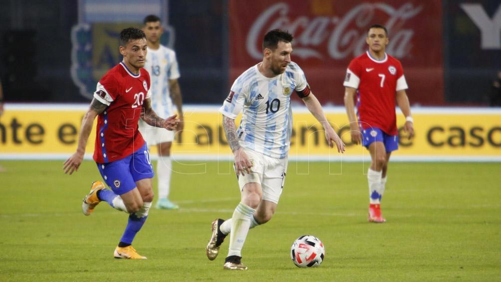 Messi fue el goleador argentino en la noche santiagueña