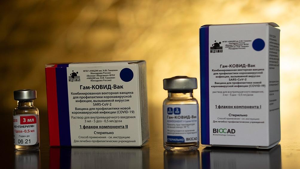 Rusia y la OMS estarían acordando la aprobación de la vacuna Sputnik V.