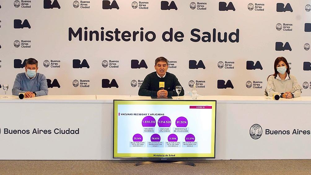 """Quirós consideró """"muy importante"""" el comienzo de la producción en la Argentina de la vacuna Sputnik V"""
