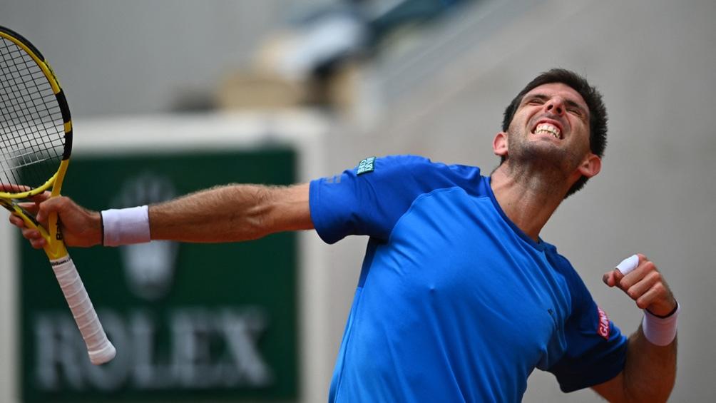 Delbonis está ubicado en el puesto 47 del ranking mundial de la ATP