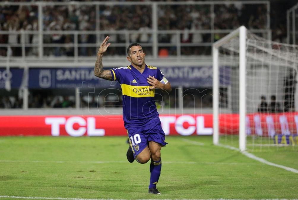 Tevez pone punto final a su carrera futbolística con la camiseta de Boca (foto archivo)