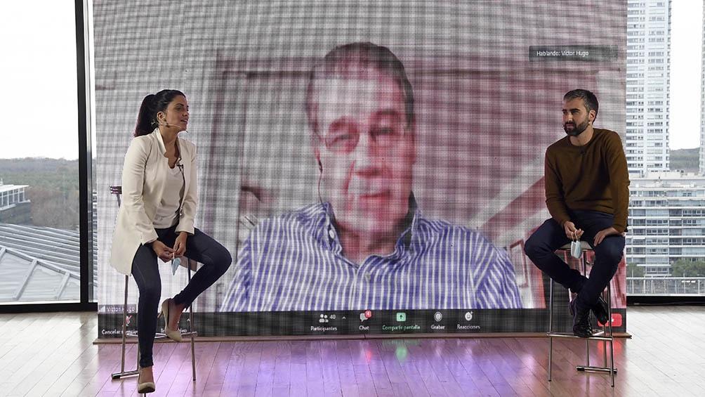 """Víctor Hugo: Los talleres UPAMI permiten que las y los afiliados puedan ocupar el tiempo con una mayor calidad""""."""