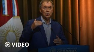 Córdoba suspende las clases presenciales, reuniones sociales y familiares por dos semanas