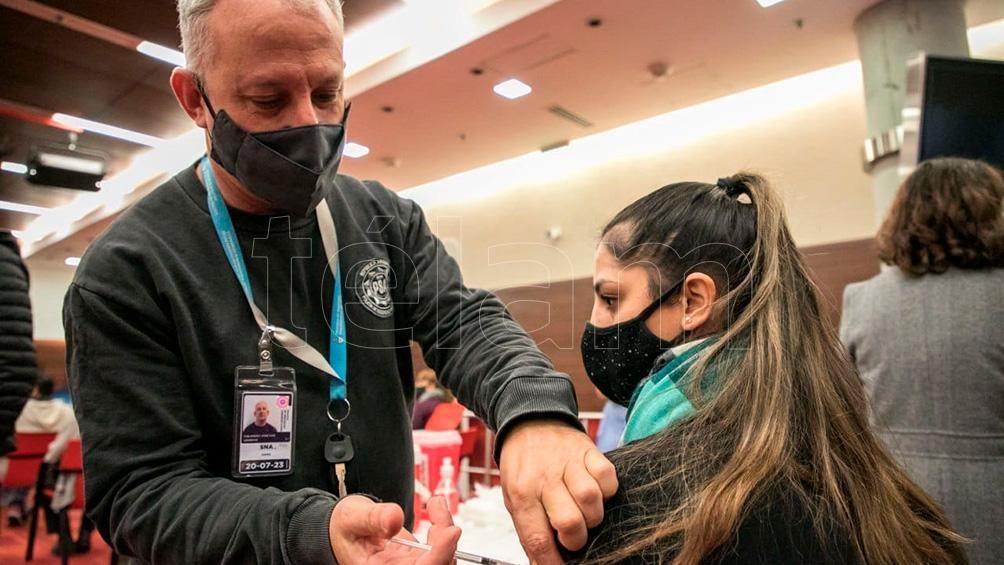 50 mil dosis aplicadas al personal de las fuerzas federales de Seguridad.